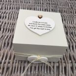 Shabby Personalised Chic Auntie Aunty Great Aunt Gift Trinket Box Jewellery Box - 332401635133